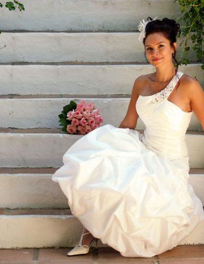 Sesión de fotos de boda en exteriores La Cala de Mijas 01